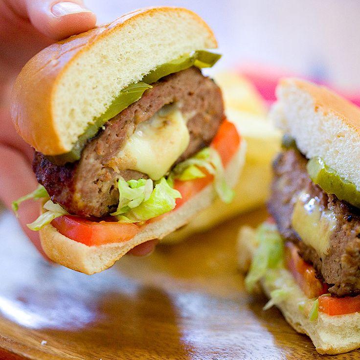 8 mejores imágenes de Burgers en Pinterest | Carne asada, Cenas de ...