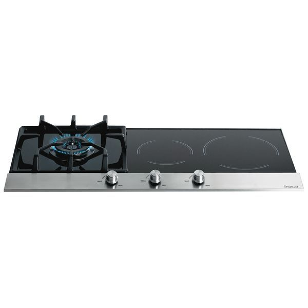 Highland 90CM Ceramic Glass with Stainless Steel Gas Cooktop HT3CIN. | E Trading - Kitchen, Bathroom & Laundry