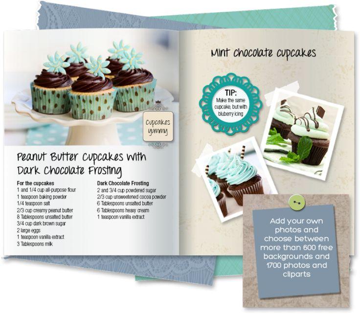 17 meilleures idées à propos de make your own cookbook sur ... - Creer Un Livre De Recette De Cuisine