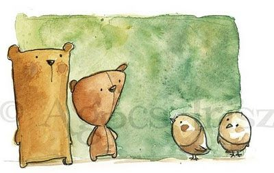Artista Blog: Bears and sparrows // Medvék és verebek