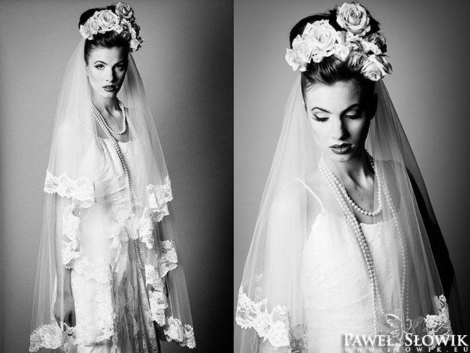 Piękny portret Panny Młodej | Fotografia ślubna