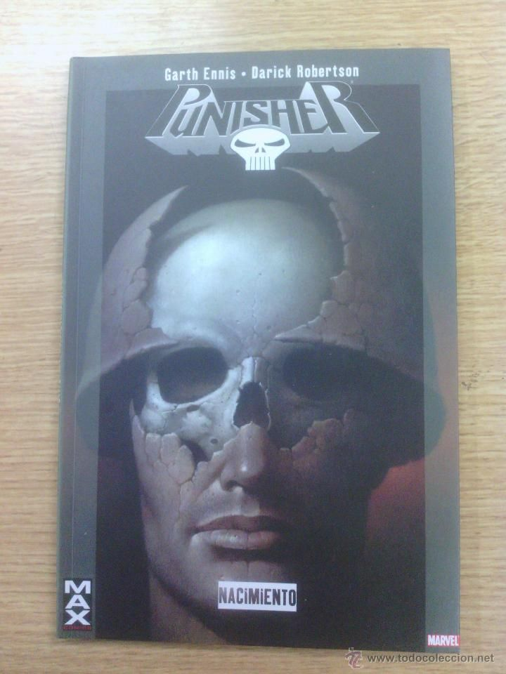 PUNISHER NACIMIENTO (100 % MARVEL MAX) $6