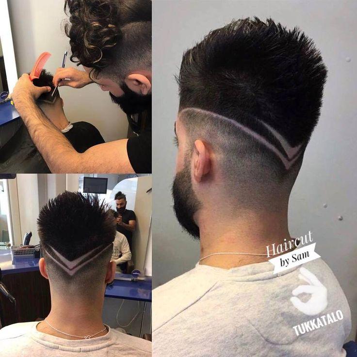 #menshair #hair #barber #parturi #tukkatalo #hairtattoo