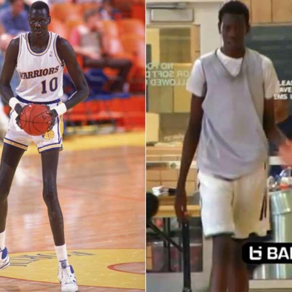 Hijo de Manute Bol muestra su potencial para el basquetbol