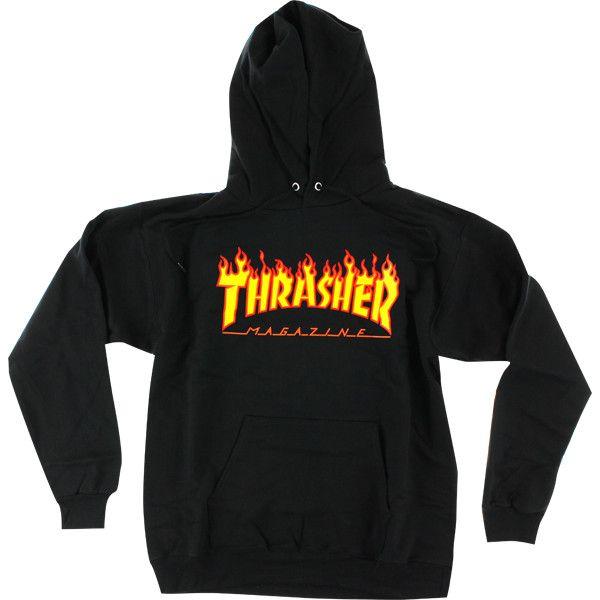 Thrasher SWEATSHIRTS ❤ liked on Polyvore featuring tops, hoodies, sweatshirts, zip up hoodie sweatshirts, hooded zip up sweatshirt, zip up top, hoodie sweatshirts and logo hoodies