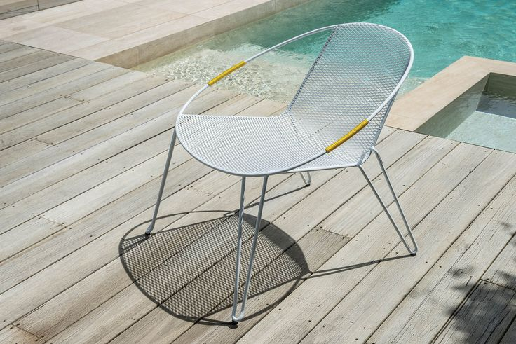 Volley Lounger designed by Adam Goodrum for a courtside view of a life outside