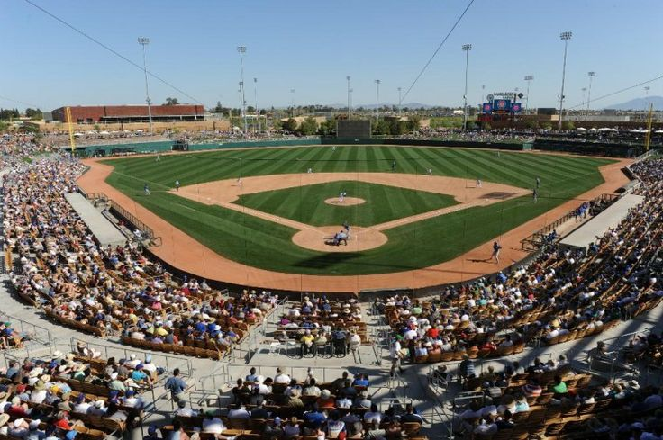 Camelback Ranch Ball Park is the spring training home of the Chicago White Sox and the Los Angeles Dodgers. It opened in March of 2009 and has a seating capacity of 13,000. http://www.evergreenturf.com/arizona-sod-for-baseball-fields.php