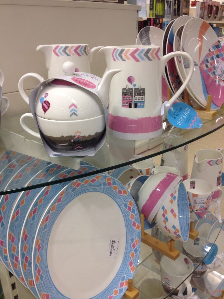 Homesense Bargain Of The Week Gorgeous Royal Worcester Up And Away Tableware Mugs Plates Tea For One Milk Jug To 50 Off Thriftyf