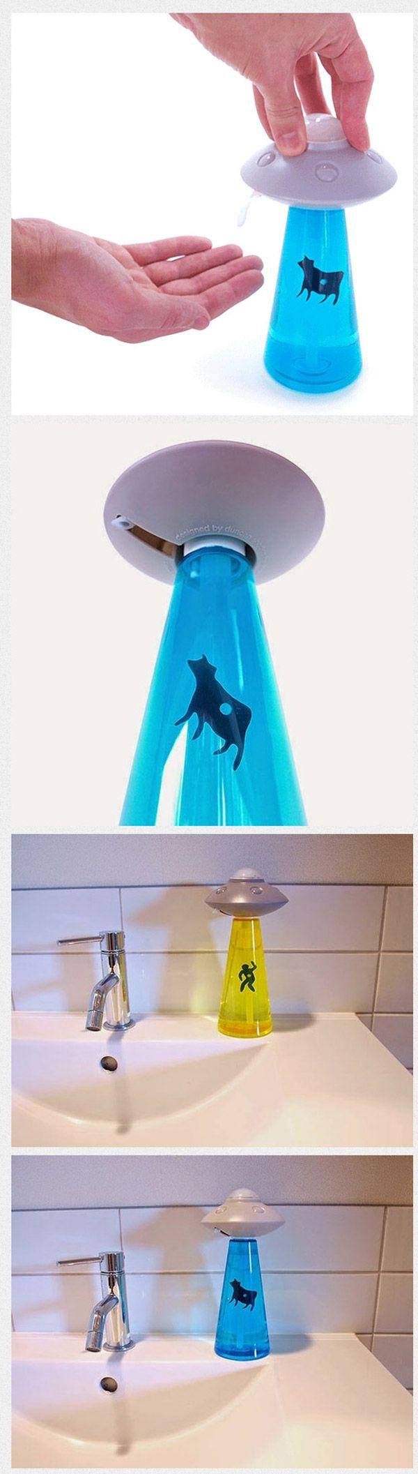 El dispensador de jabón más original del mundo