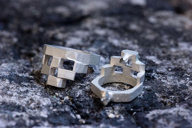 "85 Likes, 3 Comments - Gab McNeil (@gabmcneildesign) on Instagram: ""Freshly Casted Stacked Skull Rings #sterlingsilverjewelry #handcrafted #madeinmontreal #handmade…"""