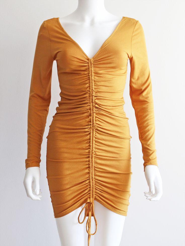 Tautmun - CEAIR DRESS - MUSTARD, $19.99 (http://www.tautmun.com/ceair-dress-mustard/)
