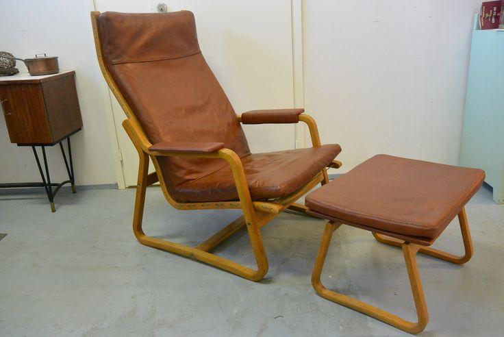 Ditte & Adrian Heath, Søren Horn Cabinetmaker tuoli ja rahi, pehmusteet uusittu ja pintakäsittely