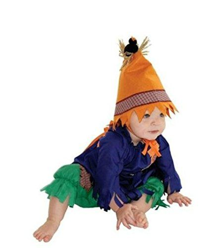 Mullins Square Baby Scarecrow Costume 618months