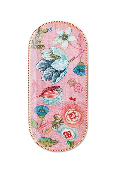 Show details for Spring to Life Cake Tray 34 cm Pink