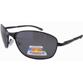 Eyekepper Metal Frame Spring Hinged Temple Sports Polarized Sunglasses Black Eyekepper. $13.99