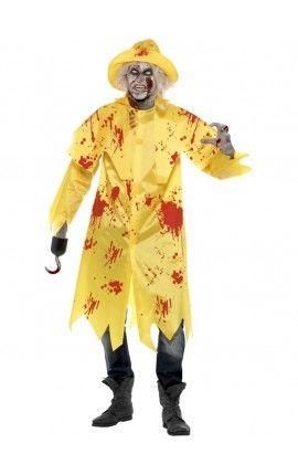 Disfraz de pescador zombie
