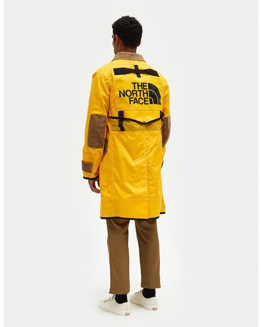 9ecd27ed7e38 Junya Watanabe - Yellow The North Face Duffle Bag Nylon Oxford Coat for Men  - Lyst