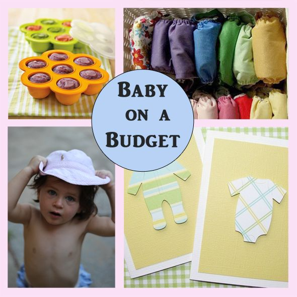 ways for families to save money on baby expenses; pin now, read later