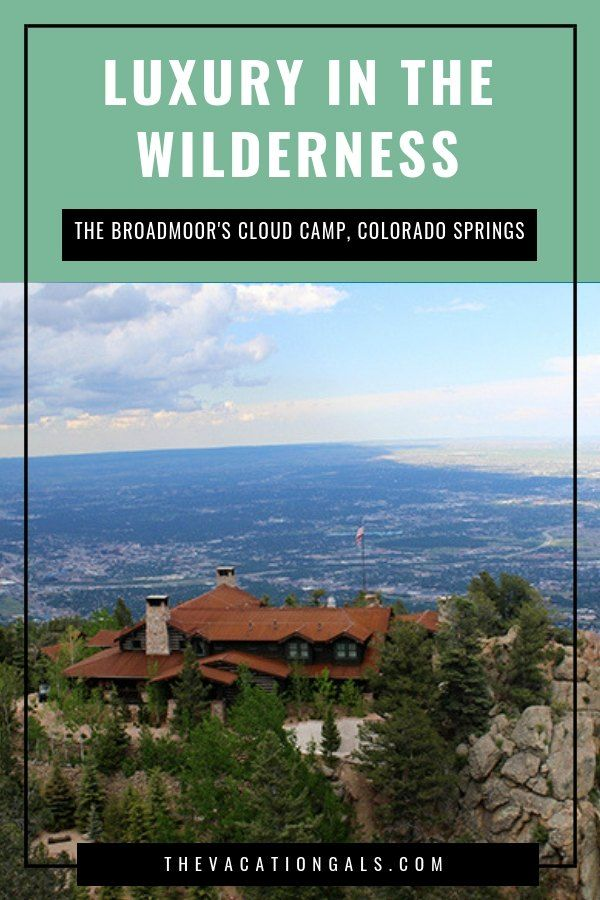 The Fire Tower Suite at The Broadmoor Cloud Camp: Most ...