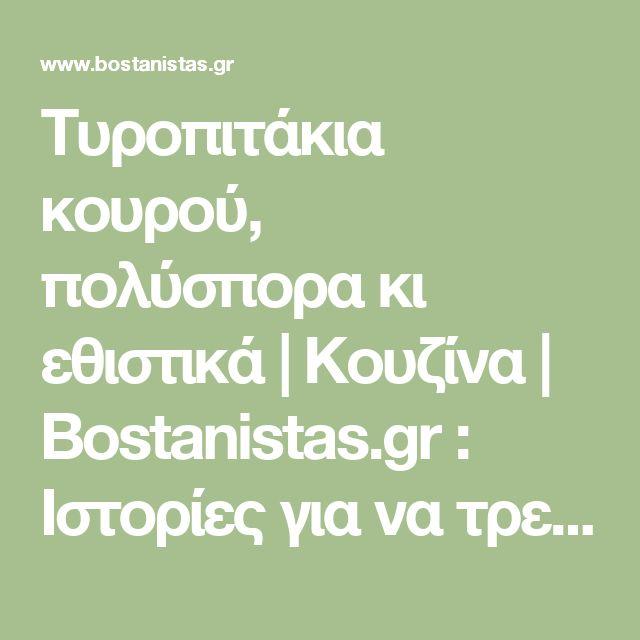 Τυροπιτάκια κουρού, πολύσπορα κι εθιστικά | Κουζίνα | Bostanistas.gr : Ιστορίες για να τρεφόμαστε διαφορετικά