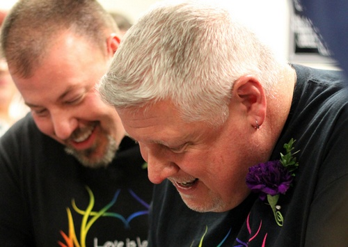 news portland maines first married couple finally feel equal