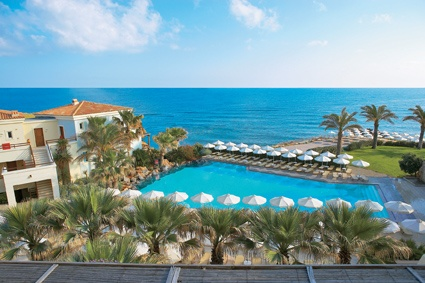 http://www.youtube.com/watch?v=9ZC5_wJ-Hyk  #All_inclusive #luxury! All inclusive #family #resort in #Crete, Grecotel Club Marine Palace & Suites, has been designed with families in mind. 6 amazing #pools, an aqua park with slide & fountains, a host of activities from morning to night, including the best underwater diving in Crete. What more can you ask for?