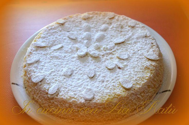 torta di mandorle sofficissima