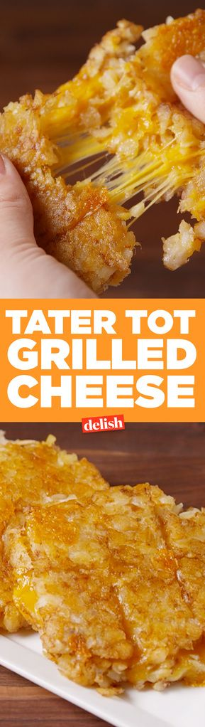 Tater Tot Grilled Cheese Is The Perfect Anytime Snack