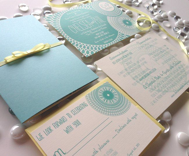 86 best destination wedding invitations images on pinterest tiffany blue inspired 5x7 invitation suite in a shimmering teal blue enclosure wrapped in a stopboris Gallery