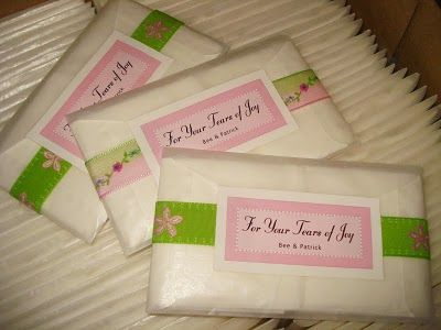 DIY Tears of Joy Tissues :  wedding diy favors minneapolis Dsc0111