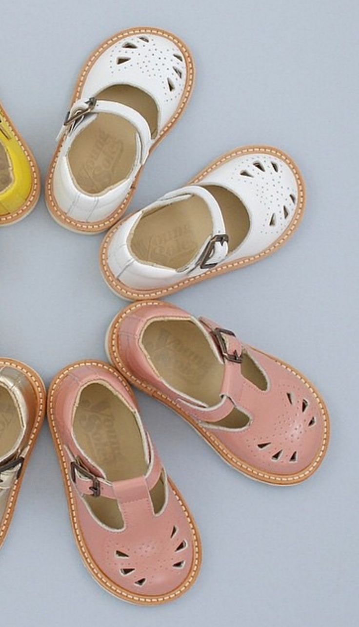 Baby shoes by Young Soles London