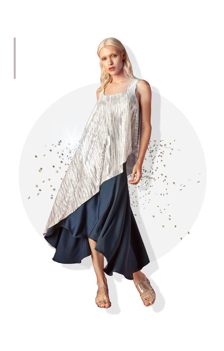 Minimalistic fashion collage for Velasquez - 2017