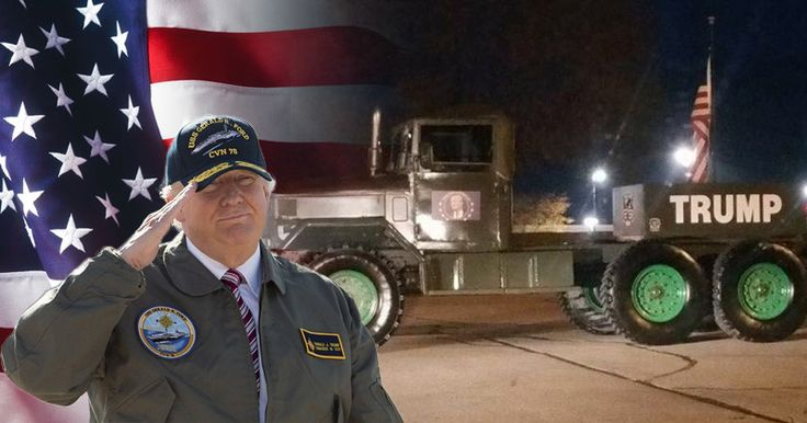 Active Duty, Military Veterans Stand Against Anti-Trump Mutiny