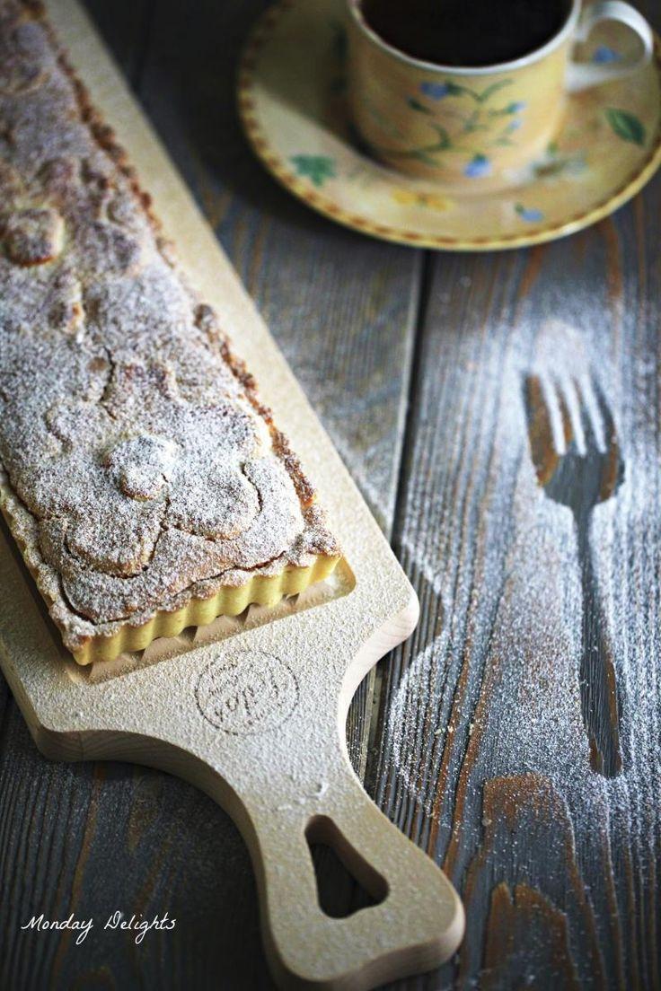 Норвежский пирог с миндалем и кардамоном - Fyrstekake » Рецепты » Кулинарный журнал Насти Понедельник. Кулинарные рецепты с фото.