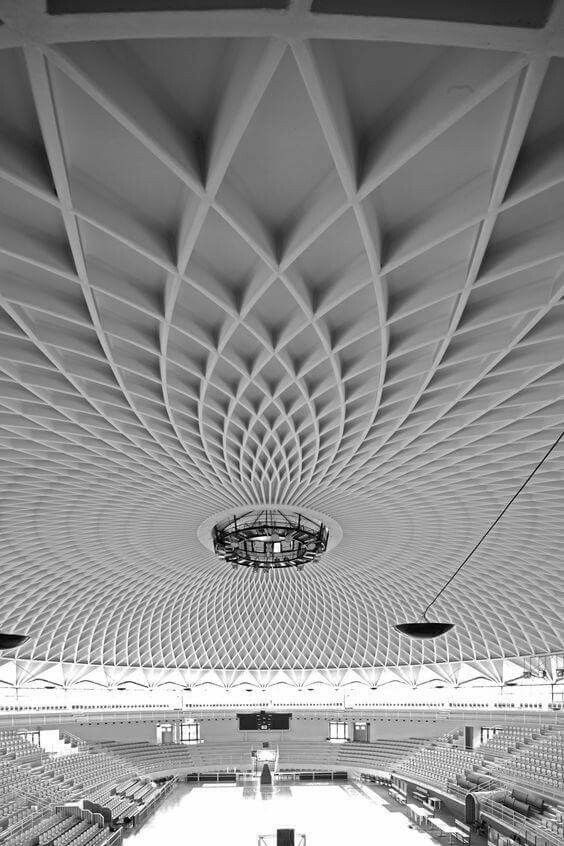 Palazzetto dello sport #Rome Pier Luigi Nervi #architecture