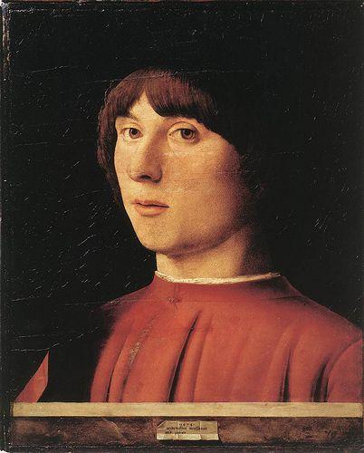 Antonello da Messina - Portrait of a man 2 1474 - Berlin, Staatliche Museen