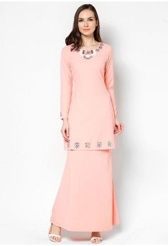 Kristal Beaded Chest Baju Kurung
