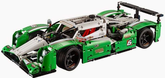 Sneak peak of the 2015 Lego Technic sets--Hamster not included