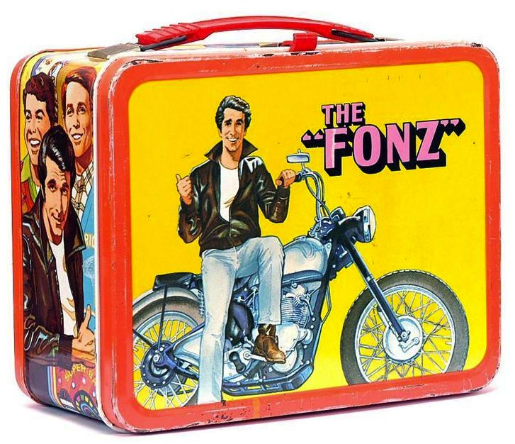 I had this very lunchbox! For kids in the '70s, the cartoon characters and pop stars on their metal lunch boxes were more important than the sliced apples and PB inside. In fact, the coolness of your lunch box could determine your social status for the whole year.