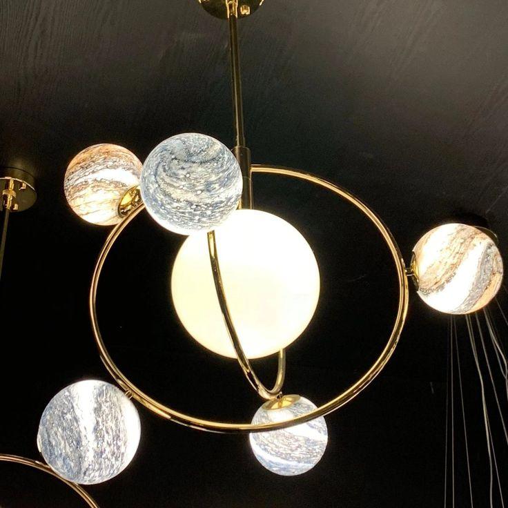 Modern Lighting Ideas The Ideal Light For A Children Room: Solar System Chandelier In 2020