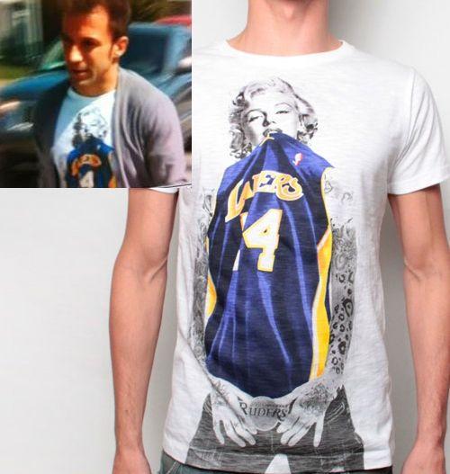 Marilyn Monroe Lakers Shirt