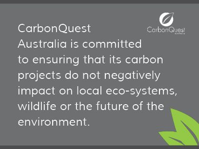 Every carbon project that we undertake is done so with the future of the environment in mind. We undertake the science to ensure our initiatives are good for the planet. It is this way of working that sets us apart from our competitors and allows us to classify our product as 'Quality Carbon.'