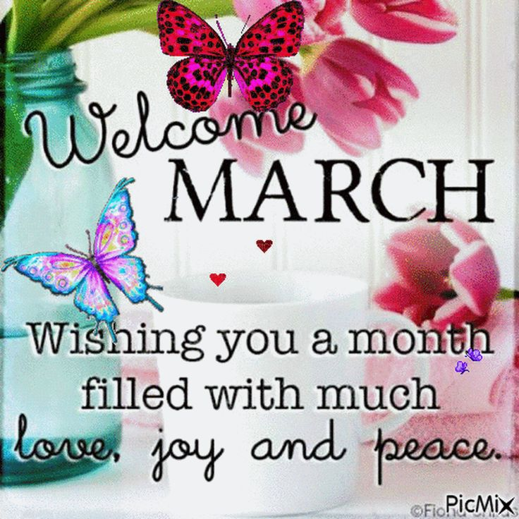 Image result for new month march quotes