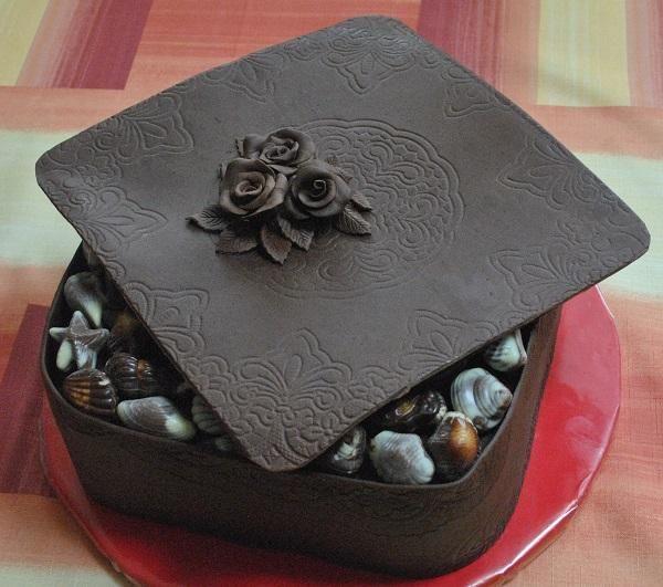 Čokoladová bonboniera , čokoládové torty torty | Tortyodmamy.sk
