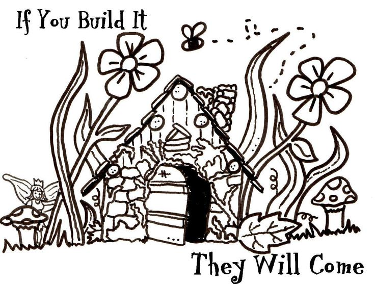 fairy houses coloring pages google search paper crafts fairy houses garden coloring pages. Black Bedroom Furniture Sets. Home Design Ideas