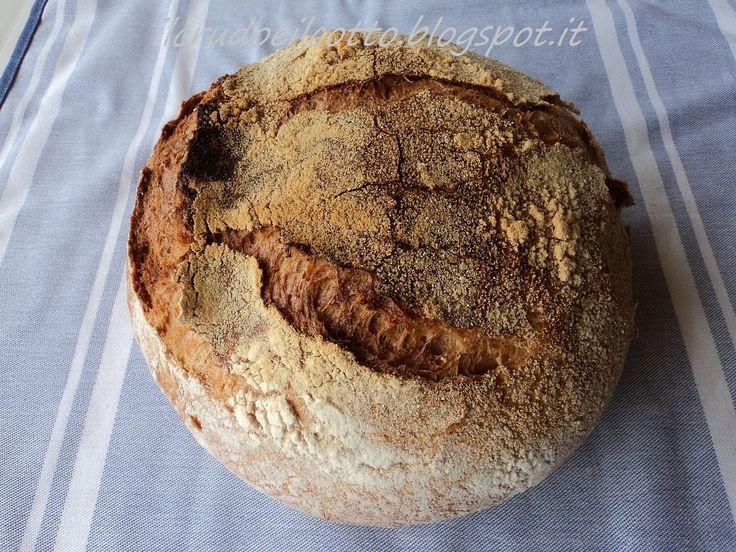 Pane Rustico a lievitazione naturale: facile, veloce, gustoso e profumato! | Il Crudo e Il Cotto