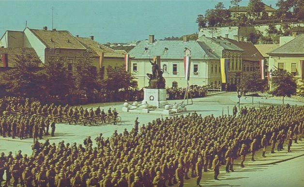"""Az egri magyar királyi """"Dobó István"""" 14. honvéd gyalogezred története (1922-1945)"""