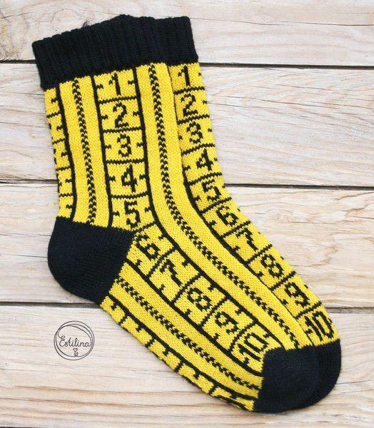 Strümpfe & Socken - Stricksocken - ein Designerstück von estilina bei DaWanda