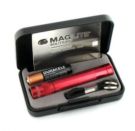 Lampe Maglite Solitaire Rouge