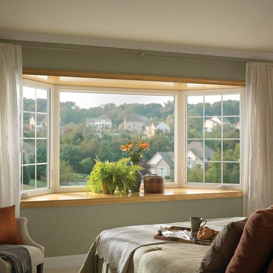 25 best ideas about bow window curtains on pinterest bay window treatments bay window - Bay window bedroom ideas ...